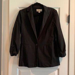 Michael Kors Women's Boyfriend Black Blazer